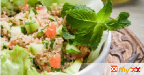 Vegetable and Herb Cauliflower Tabbouleh