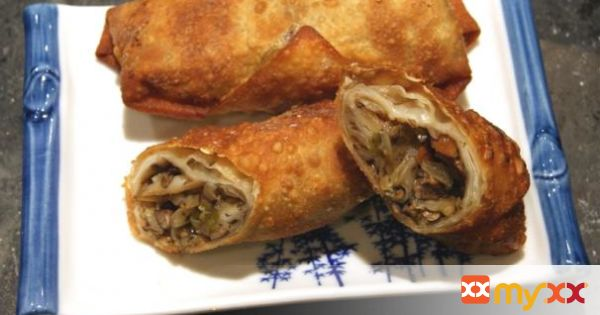 Vegetarian Chinese Egg Rolls