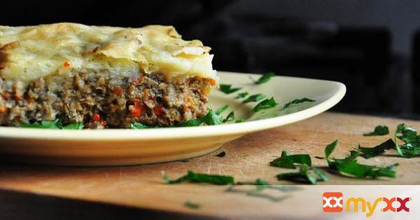 Vegetarian Mushroom Shepherd's Pie