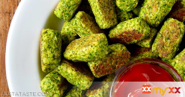 Easy Baked Broccoli Tots