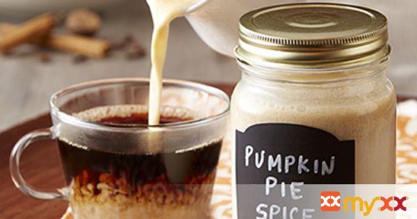DIY Pumpkin Pie Spice Coffee Creamer