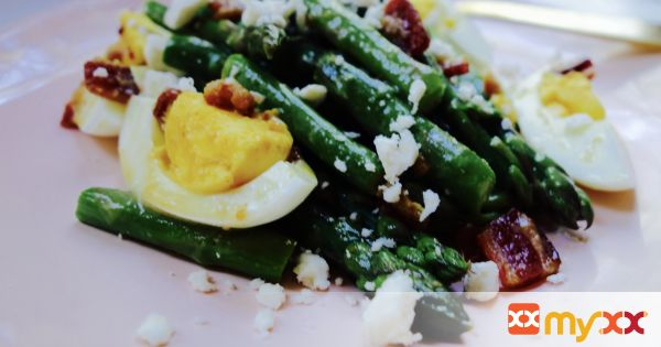 Asparagus Salad with Honey Mustard Vinaigrette