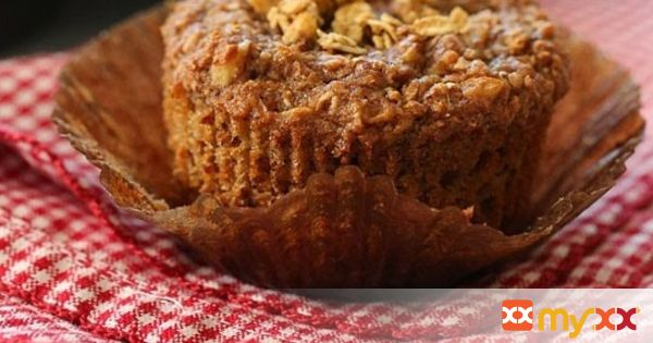 Whole Grain Apple Nut Muffins