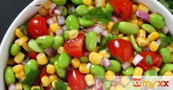 Edamame Salad with Lemon Dressing