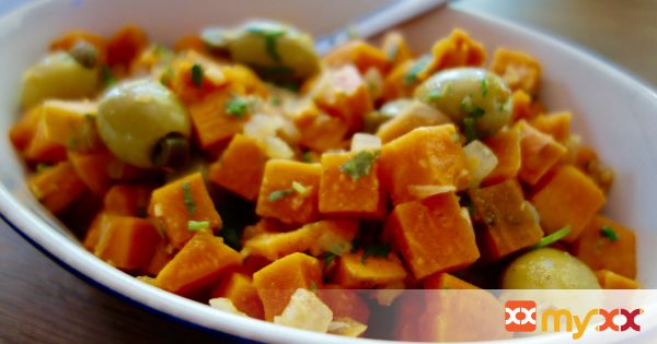 Sweet Potato Salad with Curry Vinaigrette