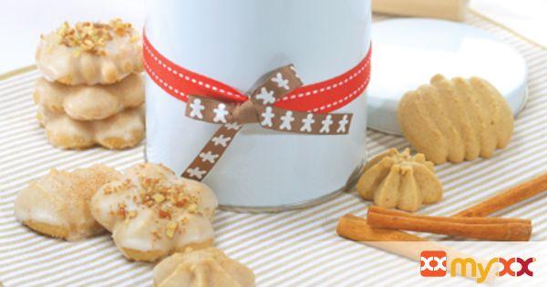Sugar and Spice Spritz Cookies