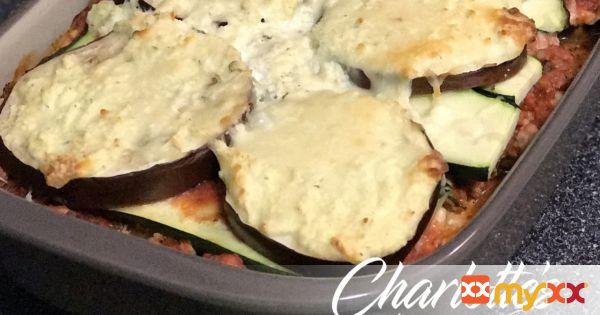Eggplant & Zucchini Lasagna (no noodles)