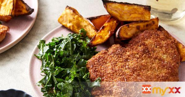 Fried Chicken & Kale Slaw