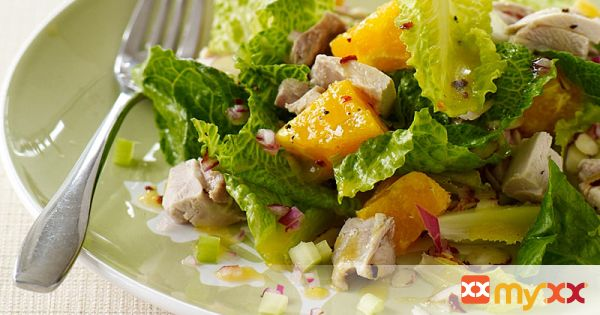 Weight Watchers Chicken and Orange Salad