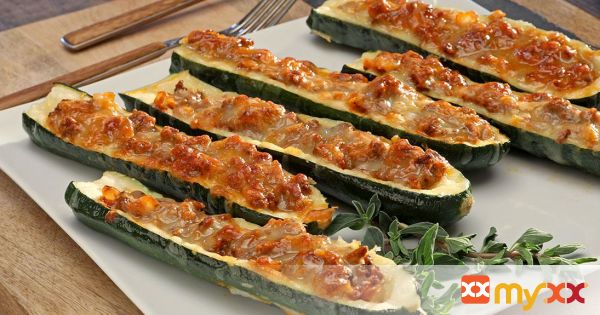 Zucchini Boats with Beef