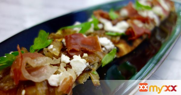 Caramelized Onion and Goat Cheese Flatbread