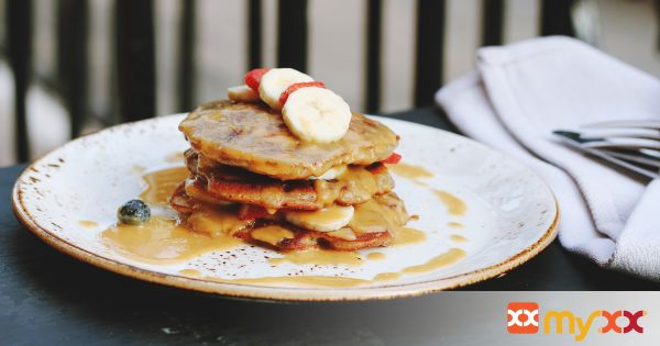 Pancakes to die for!