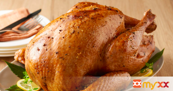 Lemon, Garlic and Herb Dry-Brined Thanksgiving Turkey