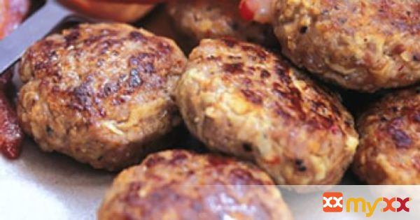 Apple and Sausage Patties
