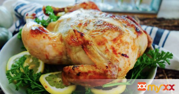 Lemon & Herb Roasted Chicken