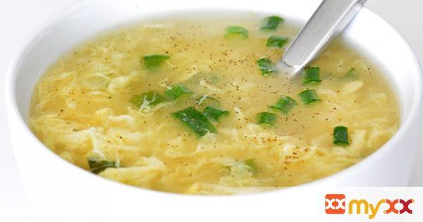 10 Minute Egg Drop Soup