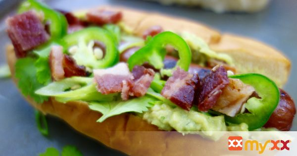 Jalapeno Bacon Guacamole Dog