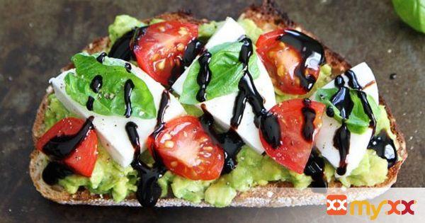 Caprese Avocado Toast