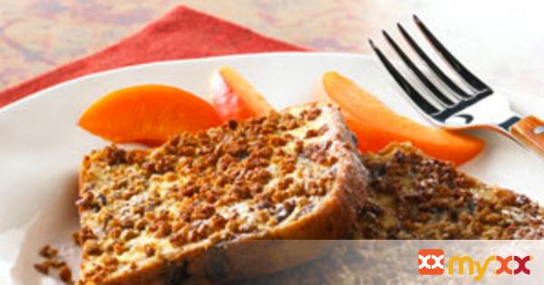 Crunchy Raisin Bread French Toast