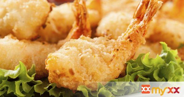 Crispy Curry Coconut Shrimp