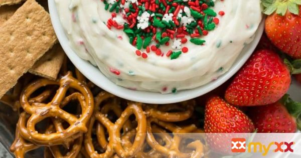 Christmas Cookie Dough Dip