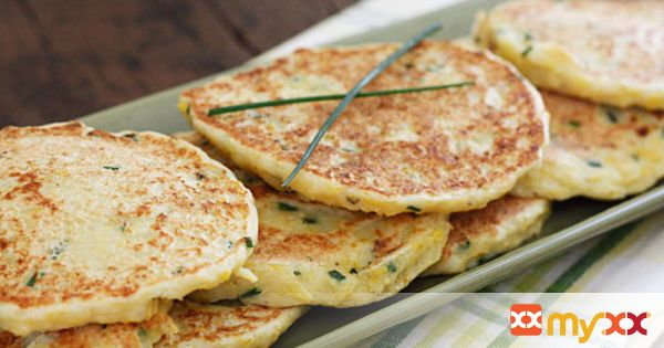 Summer Squash and Chive Pancakes (Fritters)