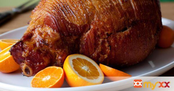 Orange Baked Ham