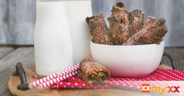 Chocolate Raisins Churros
