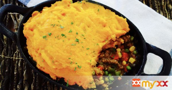 Turkey Sweet Potato Shepard's Pie