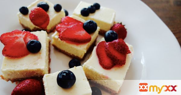 Greek Yogurt Citrus Bars