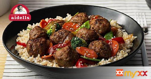 Meatball Stir Fry