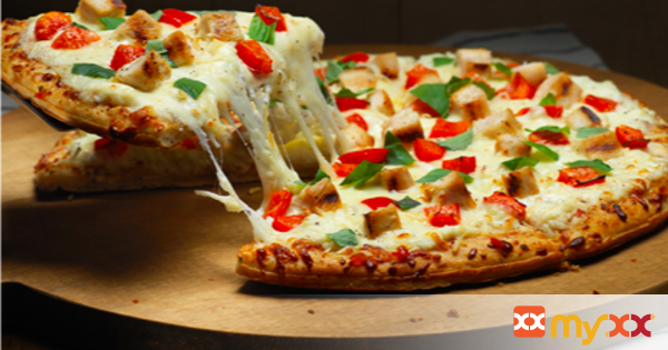 Grilled White Chicken Pizza