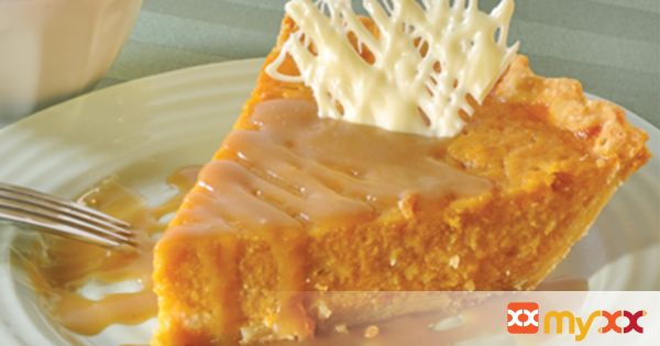 Sweet Potato Pie with Brown Sugar Bourbon Sauce