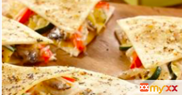 Cheesy Vegetable Quesadillas