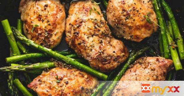 One Pan Garlic Herb Chicken