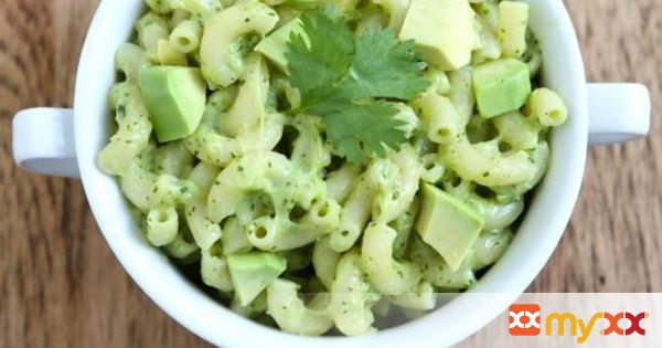 Stovetop Avocado Mac & Cheese