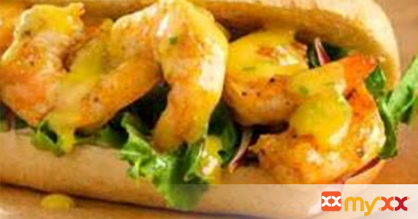 Honey Mustard Shrimp Po'Boy