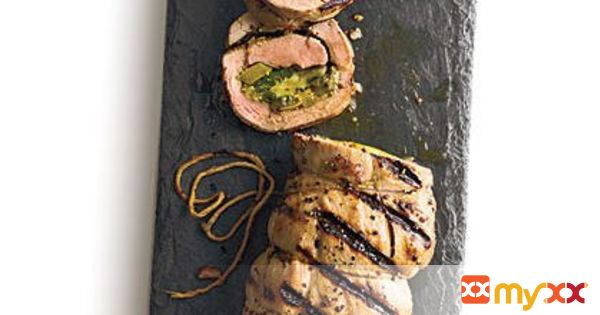 Stuffed Cuban Pork Tenderloin