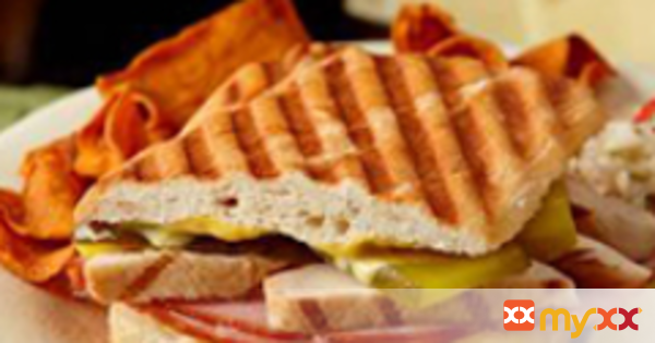 Cuban Toasted Chicken Sandwiches