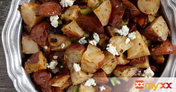 Warm Buffalo Potato Salad