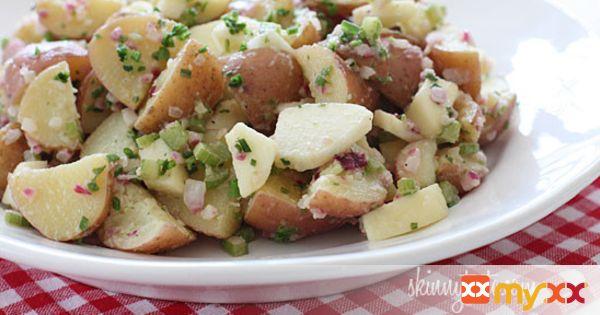 Summer Potato Salad with Apples