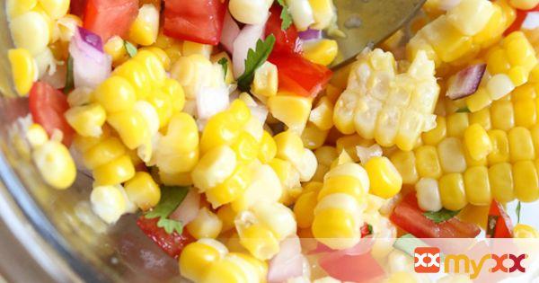 Corn Salsa with Lime