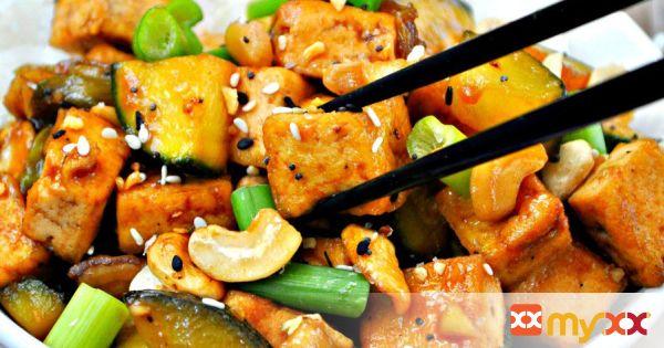 Vegan Cashew Tofu