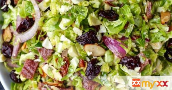 Brussel Sprout Salad with Citrus Vinaigrette
