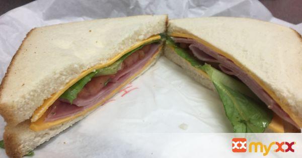 Easy school lunch- sandwiches (ham, turkey or chicken)