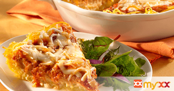 Classic Cheese Spaghetti Pie