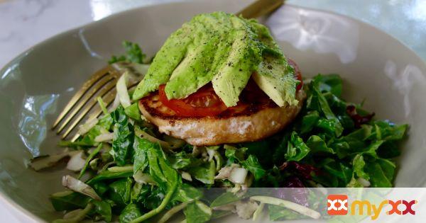 5-Ingredient Salmon Salad