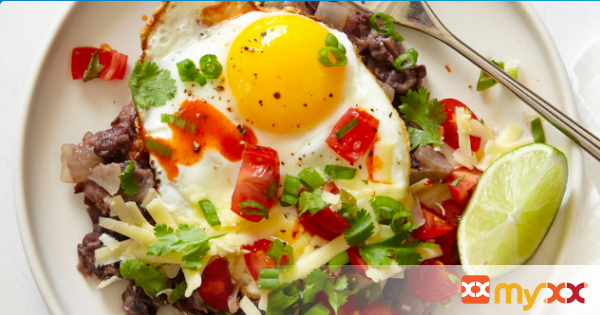 Weight Watchers Southwest Inspired Black Beans & Eggs