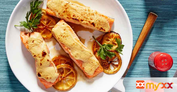 Slow-Broiled Ranch Salmon