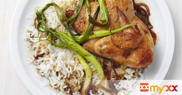 Adobo-Style Cornish Hens